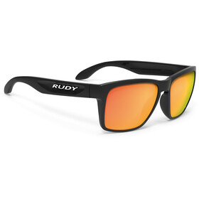 Rudy Project Spinhawk Gafas ciclismo, black gloss/multilaser orange